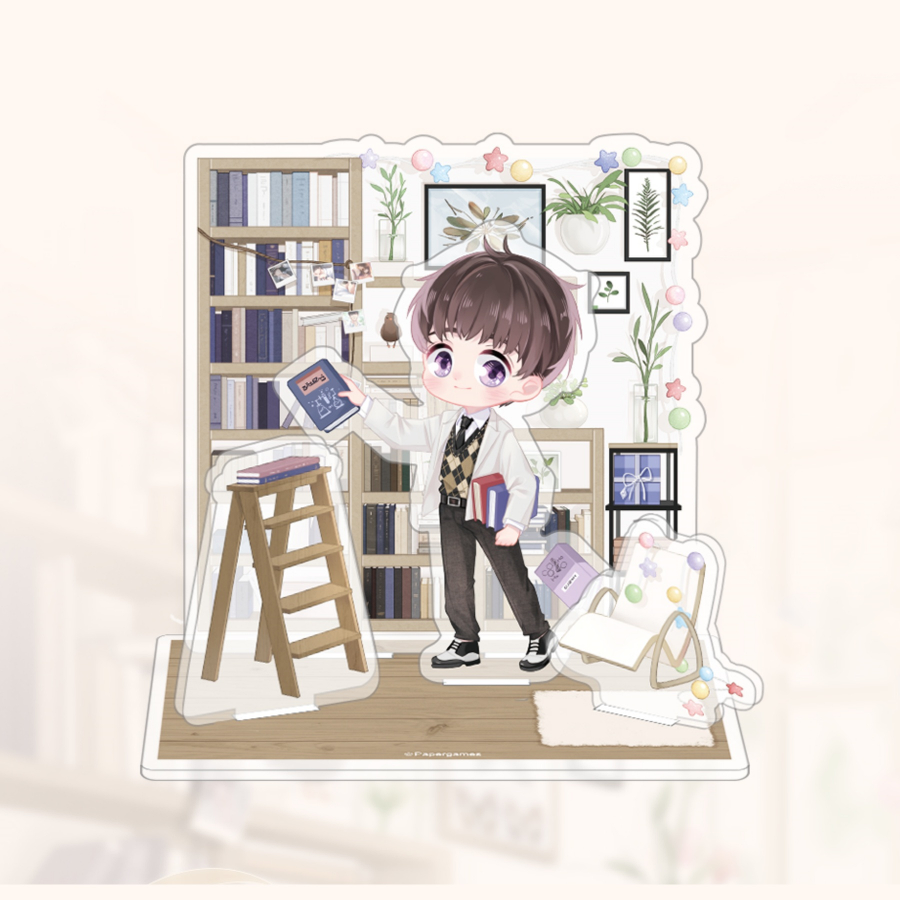 MLQC Official Goods Lucien's Birthday Acrylic Stand