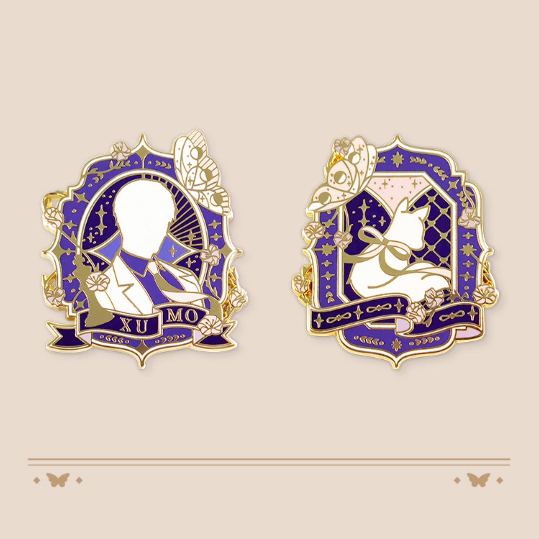 MLQC Official Goods Lucien's Birthday Pins